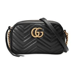 Gucci GG Marmont Small Crossbody Shoulder Handbag